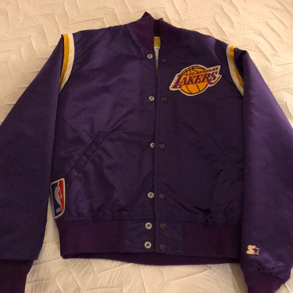 Jackets Coats Vintage Lakers Jacket Poshmark